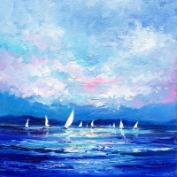 sailing_on_the_solent_oil